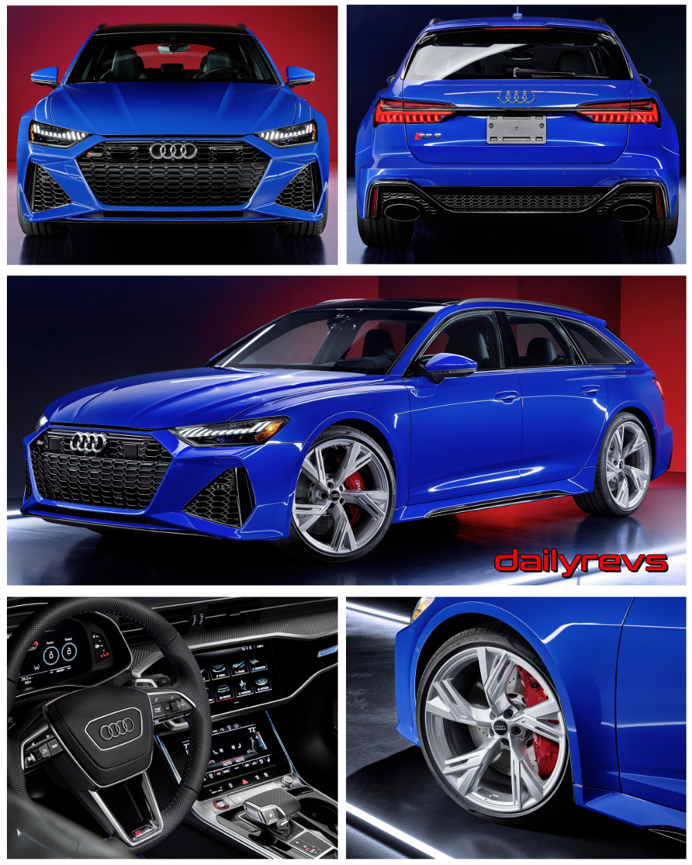 2021 Audi RS6 Avant RS Tribute Edition - Dailyrevs in 2020 ...
