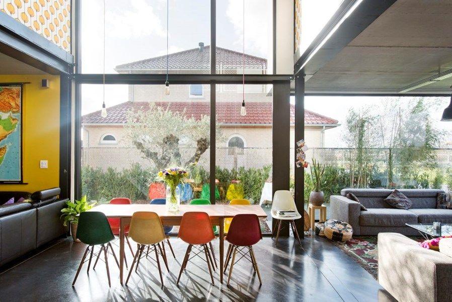 Kleurrijke Interieurs Pastel : Staalskeletbouw interieur google search huis pinterest