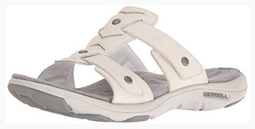 Athletic Women's Slide SandalWhite8 M Us Ii Merrell Adhera l3TcK1JF