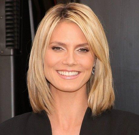 Frisur damen mittellang blond