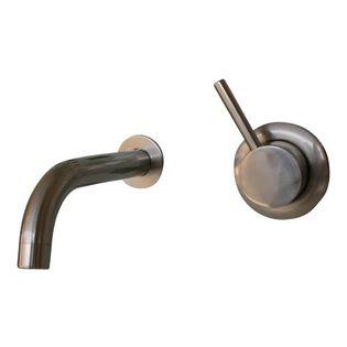 Portofino Mimimalist Modern Wall Mounted Faucet Portofino Faucet Wall Mount Faucet Modern Bathroom Faucets