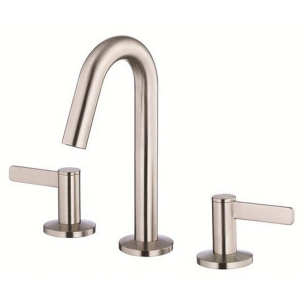 Danze Mini Widespread Amalfi Brushed Nickel Faucet Overstock