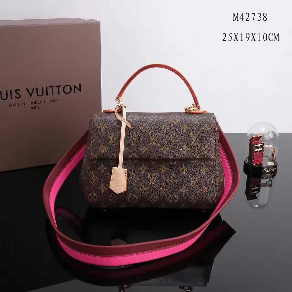 64fb3ff857c Authentic Quality 1:1 Mirror Replica Louis Vuitton Cluny BB Monogram ...