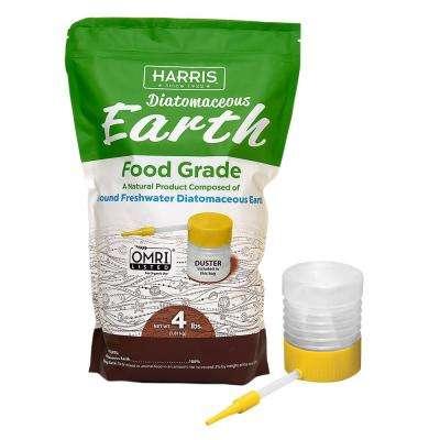 Harris 64 oz.(4 lb.) Diatomaceous Earth Food Grade 100