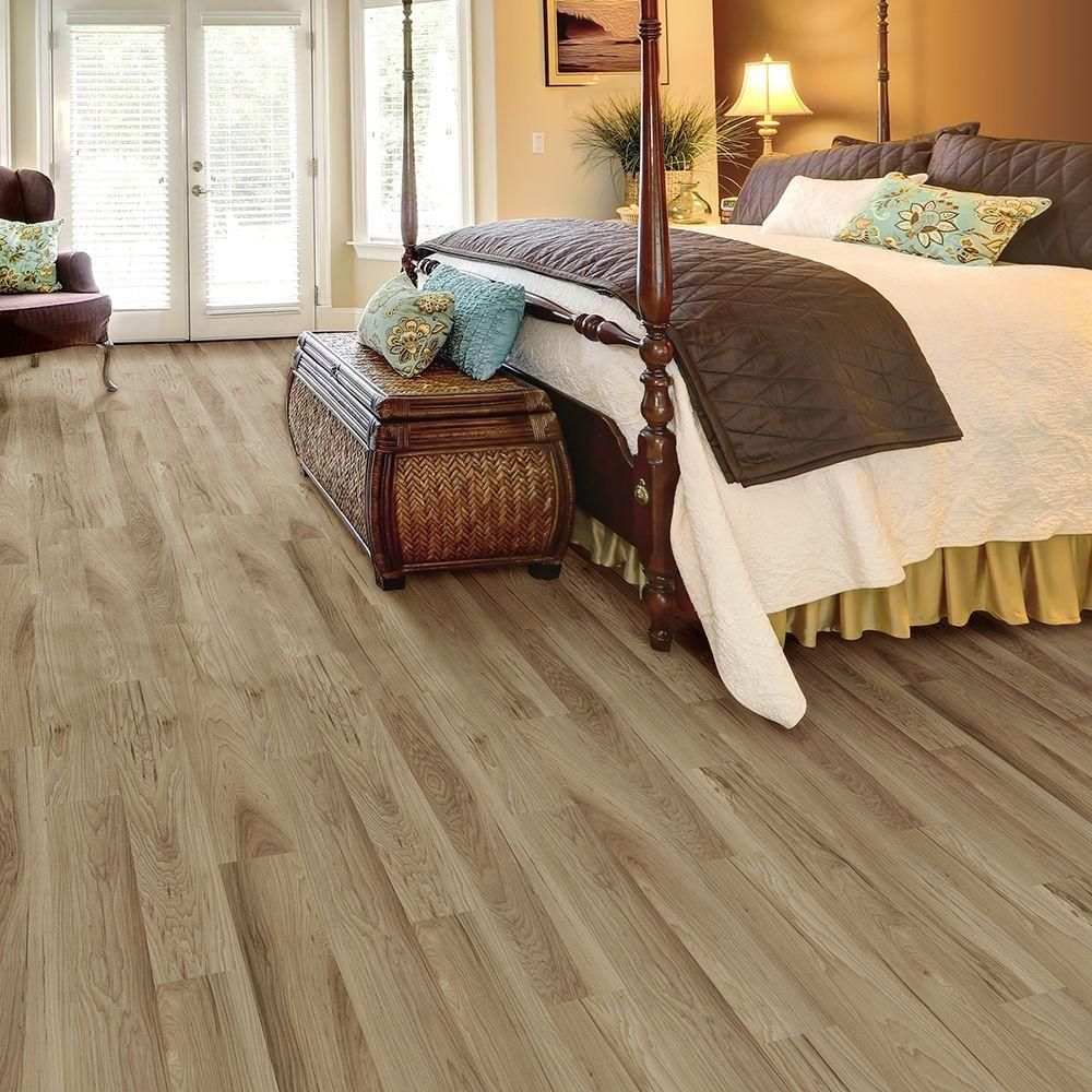 TrafficMASTER Allure English Cottage Chestnut Resilient Vinyl Plank Flooring    4 In. Take Home Sample   10083311   The Home Depot