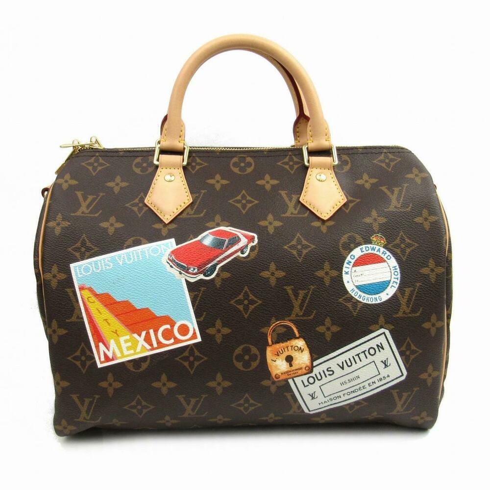 Speedy Bandouliere 30 Shoulder Bag Materialmonogram Canvas World Tour Shoulder Strap 98 110cm 38 5 43 3 Louis Vuitton Speedy Bandouliere Bags Shoulder Bag