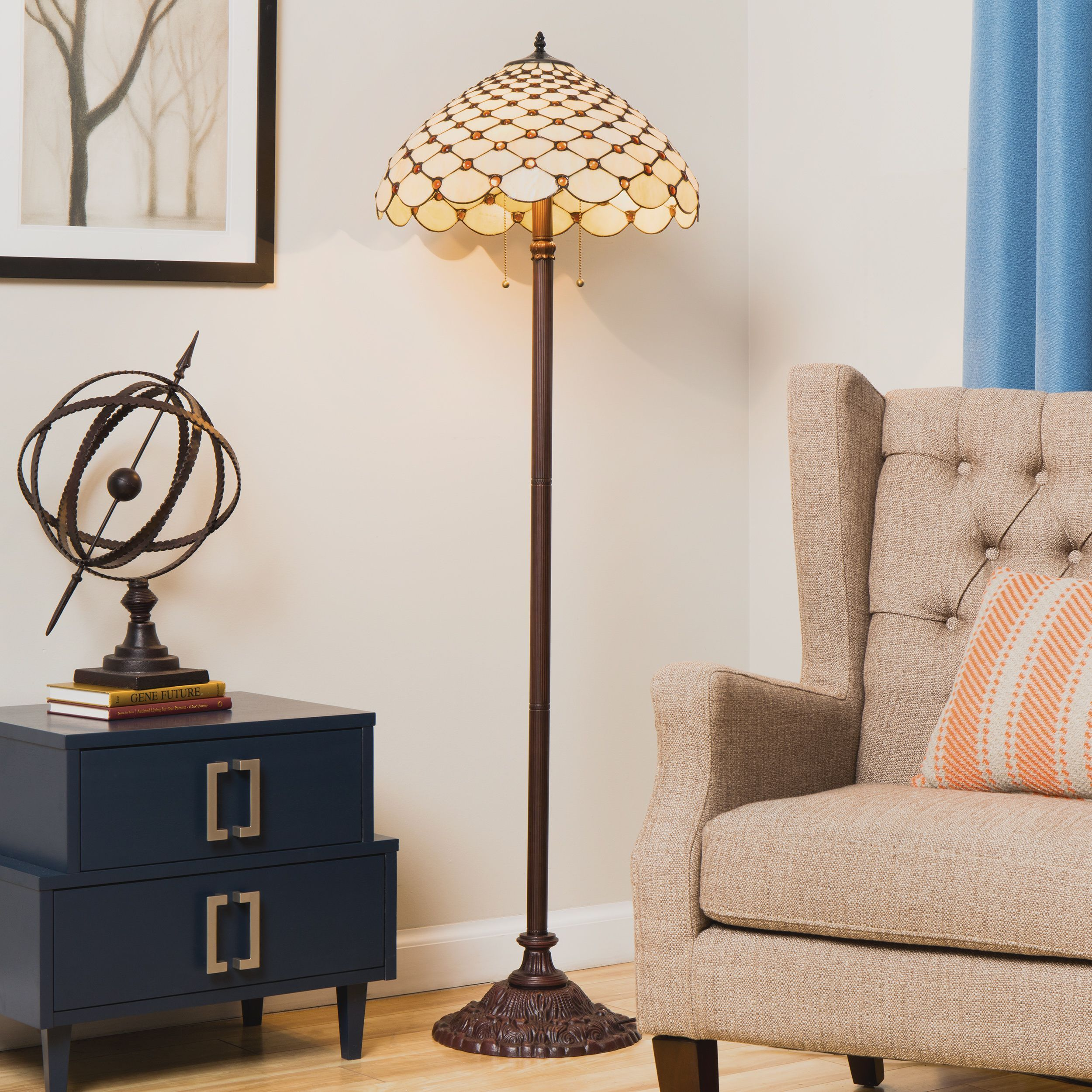 Add an eye catching accent to your indoor living space with this