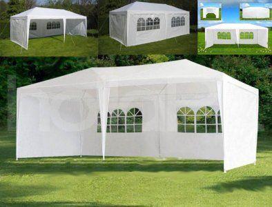 Pawilon Namiot Ogrodowy Bialy 3x6 M 6 Scianek 6055027105 Oficjalne Archiwum Allegro House Styles Mansions House