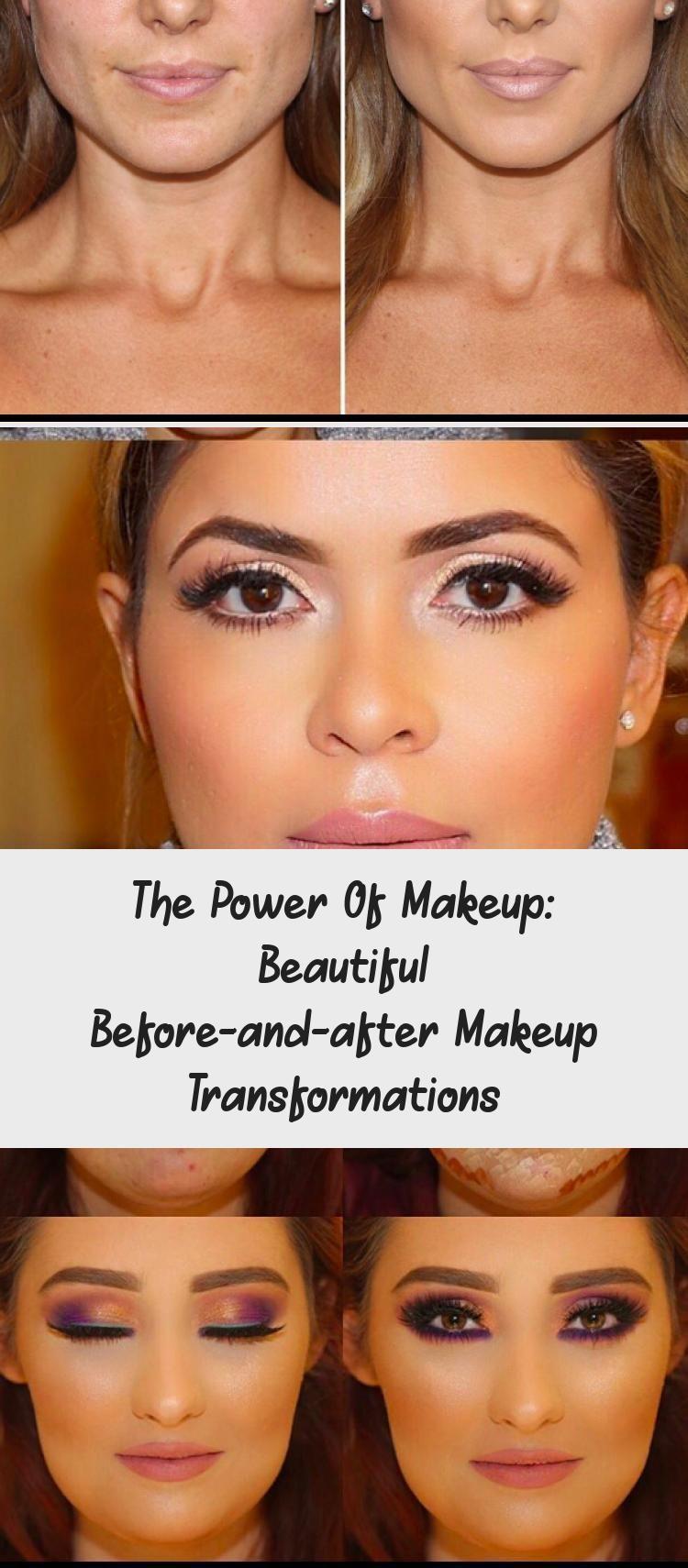 The Power Of Makeup Beautiful Beforeandafter Makeup