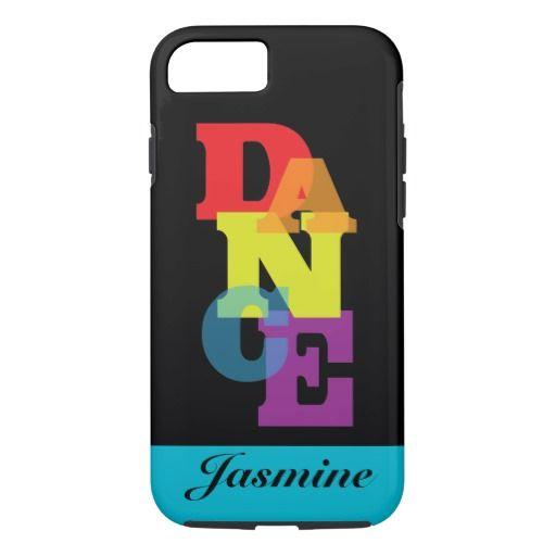 Rainbow Dance Vertical iPhone 7 Case