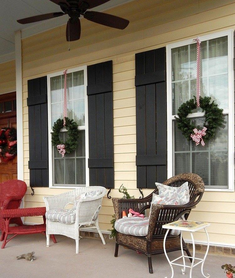 Adornos navideños ventanas de estilo y como lograrlas decorando con