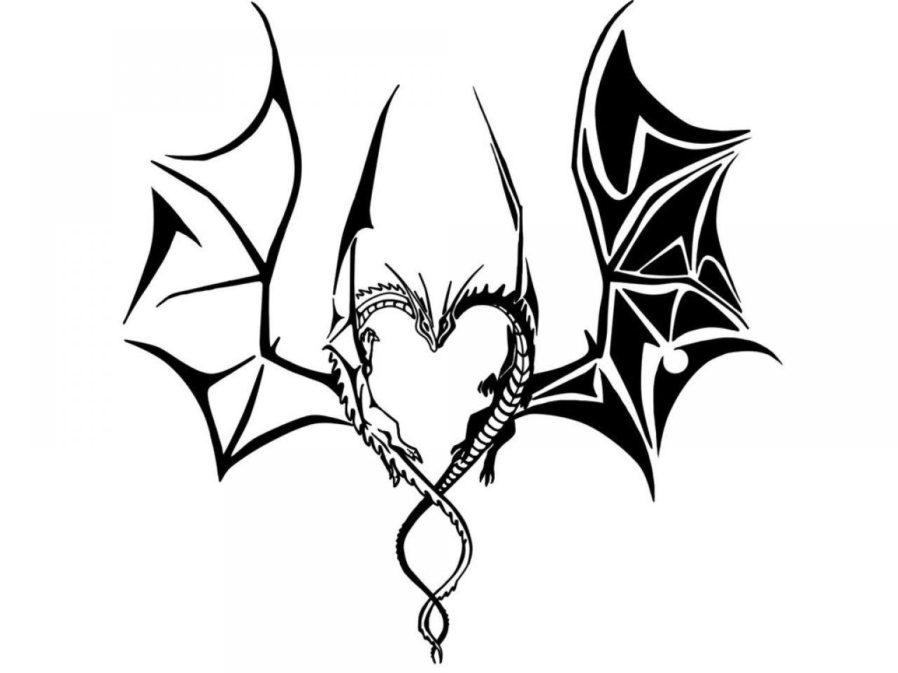 Tribal Dragon Tattoos | TATTOO DESIGN | Pinterest | Tribal ...