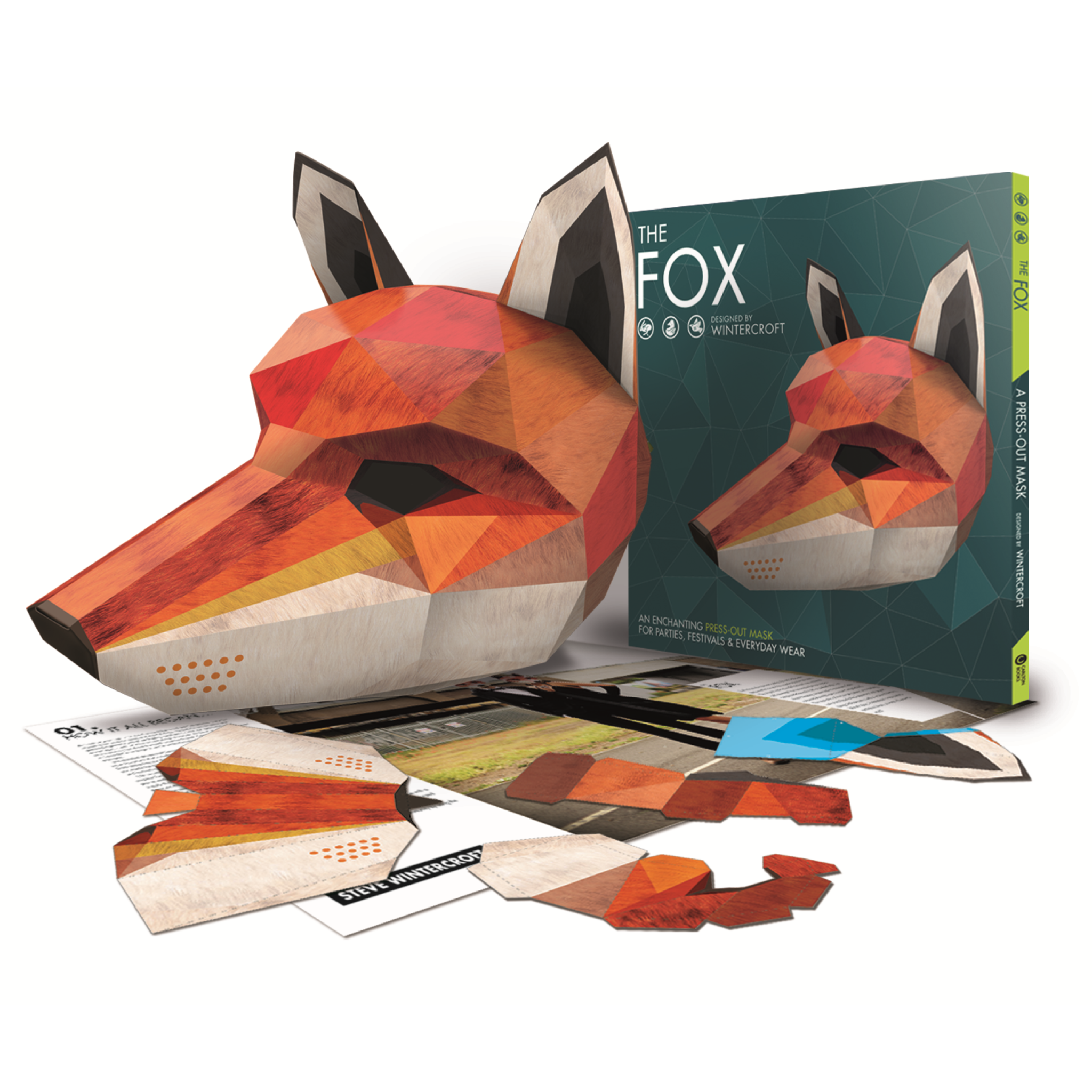 fox mask book free digital mask mask pinterest fox mask