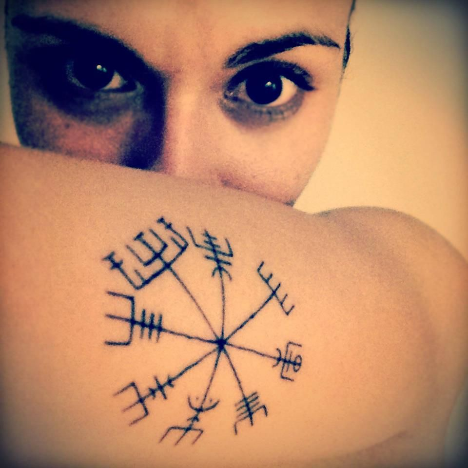 Vegvisir Meaning: My Vegvisir. A Vegvisir Is An Icelandic Word Literally