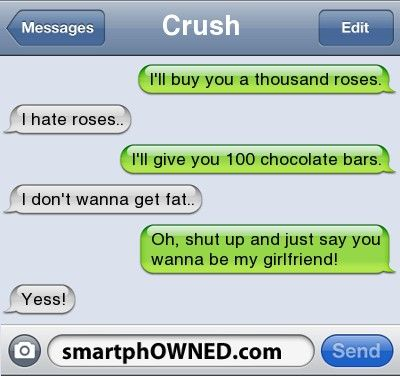 Crush sms messages