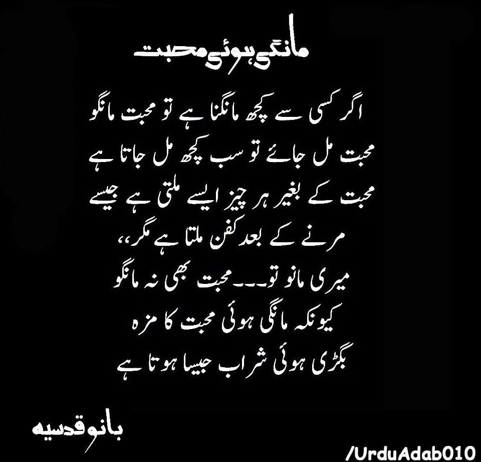Bano qudsia urdu quotes pinterest urdu quotes urdu for Bano qudsia poetry
