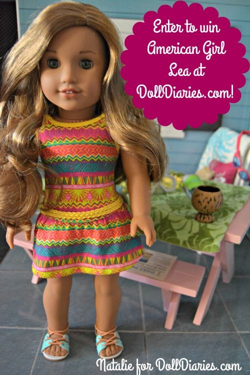 Giveaway – American Girl GOTY Lea Clark   Dolls and more   Pinterest