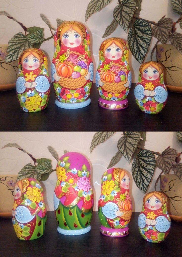 Thanksgiving nesting dolls