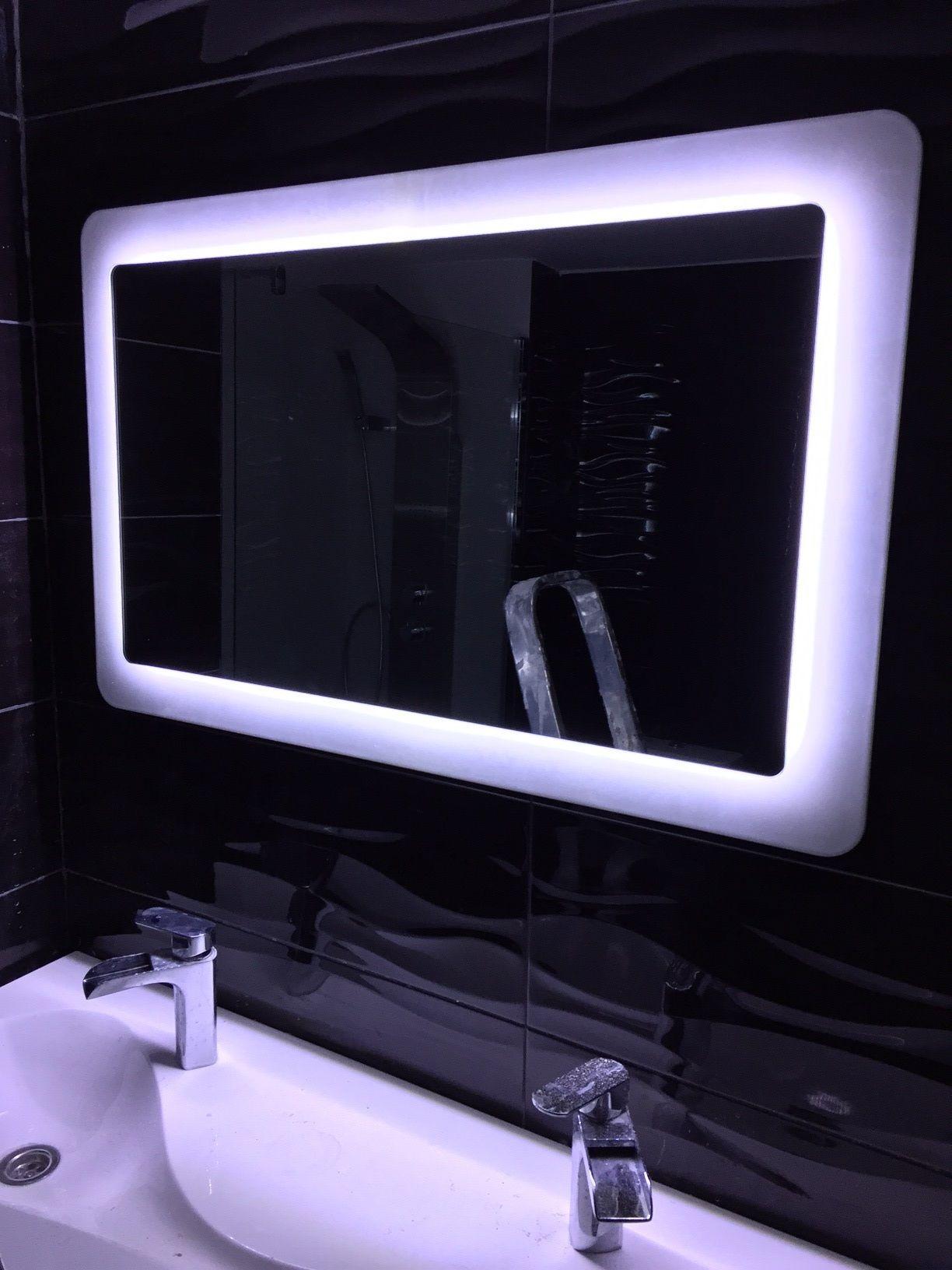 Richard nos manda la instalaci n del espejo salgar con luz for Espejos con luz integrada