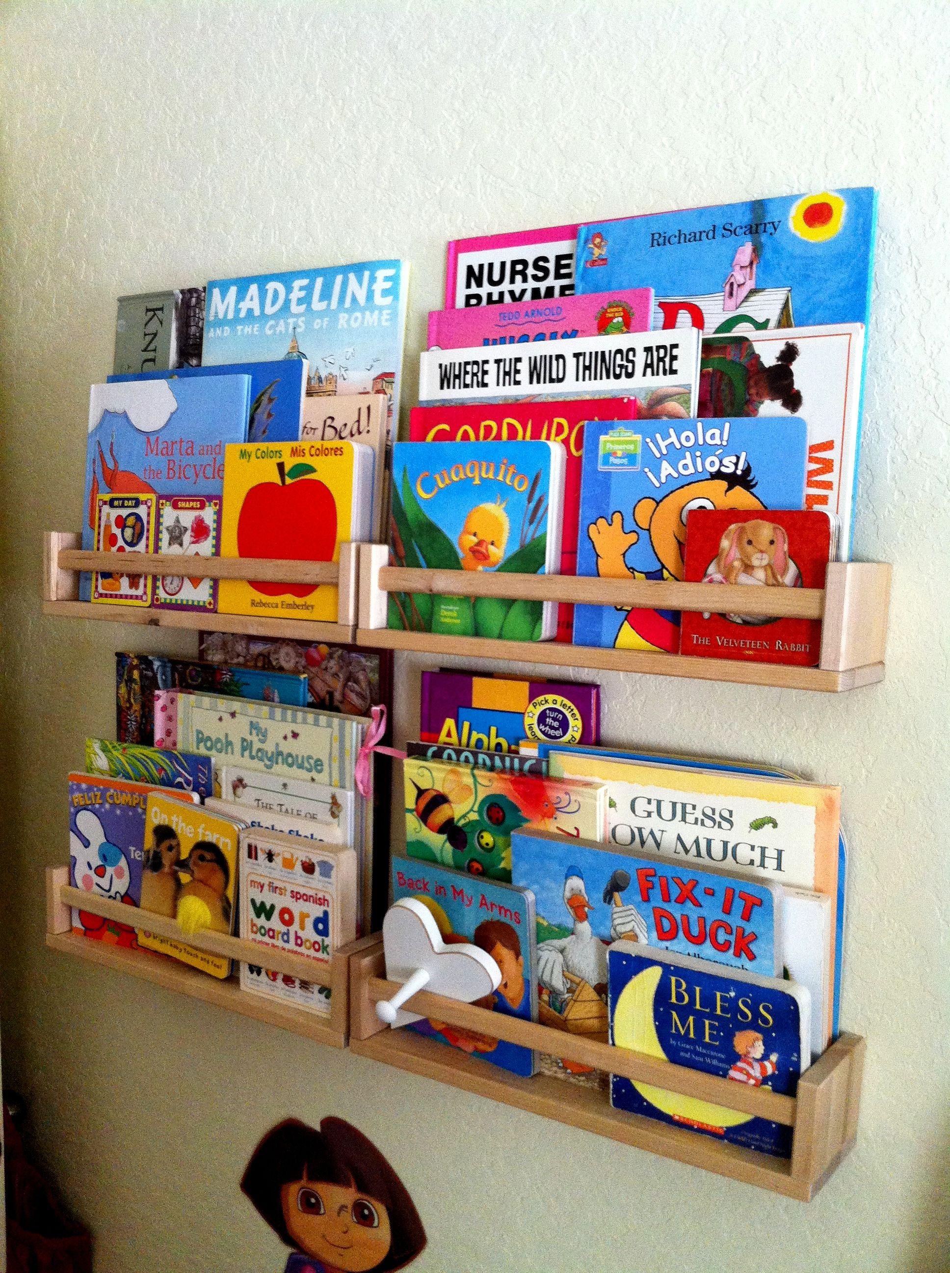 Bookshelf Redo Book Storage Sports Themed Room Educational Decor
