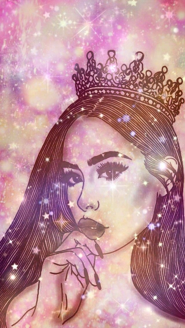 Glitter Queen, made by me👑💖 on We Heart It