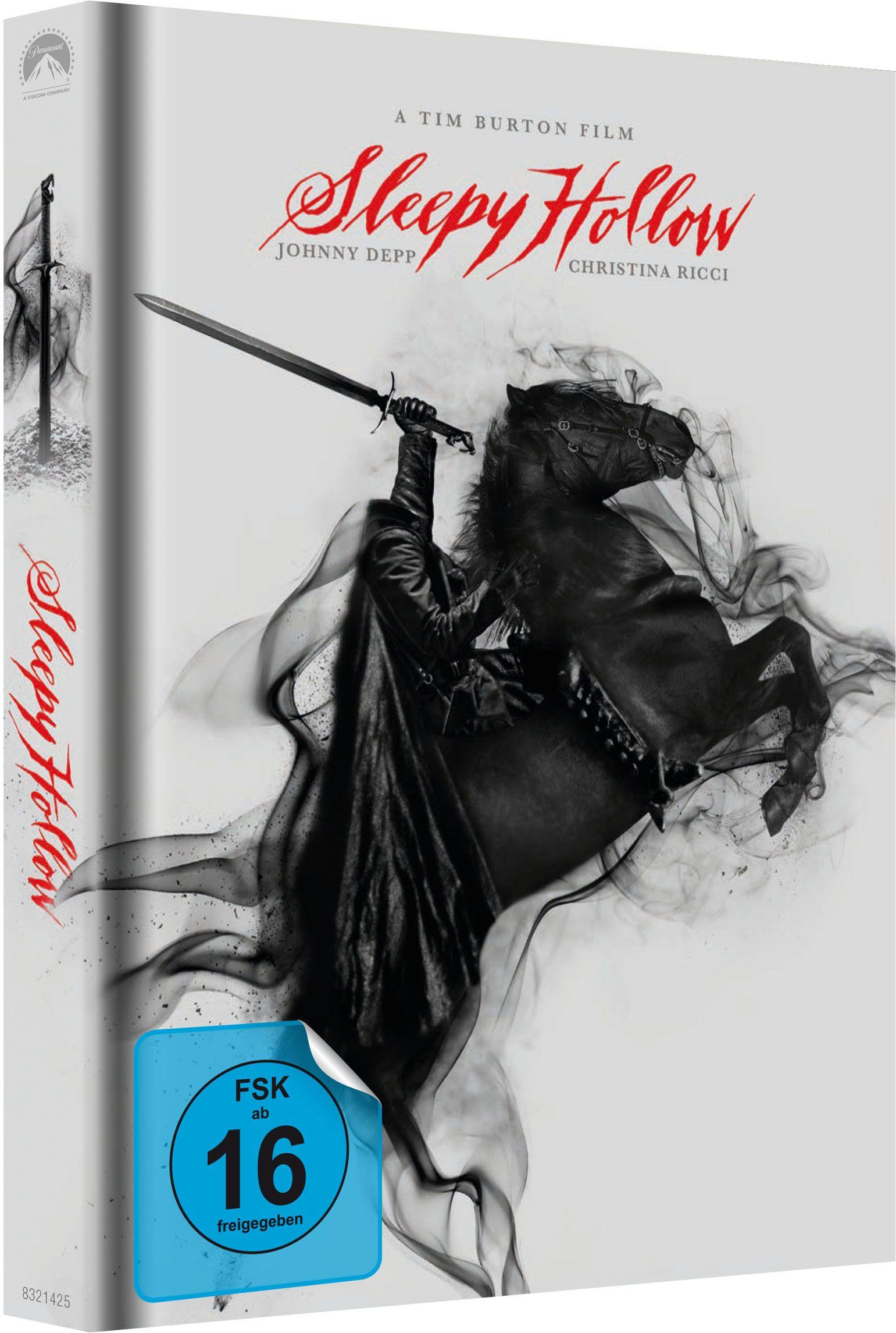 Sleepy Hollow im schicken weißen Mediabook