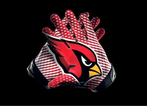 12cdec8c322e Men s Nike NFL Arizona Cardinals Vapor jet 2.0 Gloves