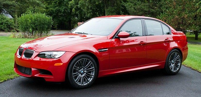 Red E90 M3 Sedan