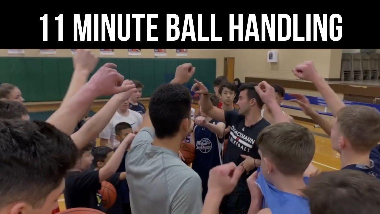 11 minute Ball Handling with DJ Sackmann HoopStudy