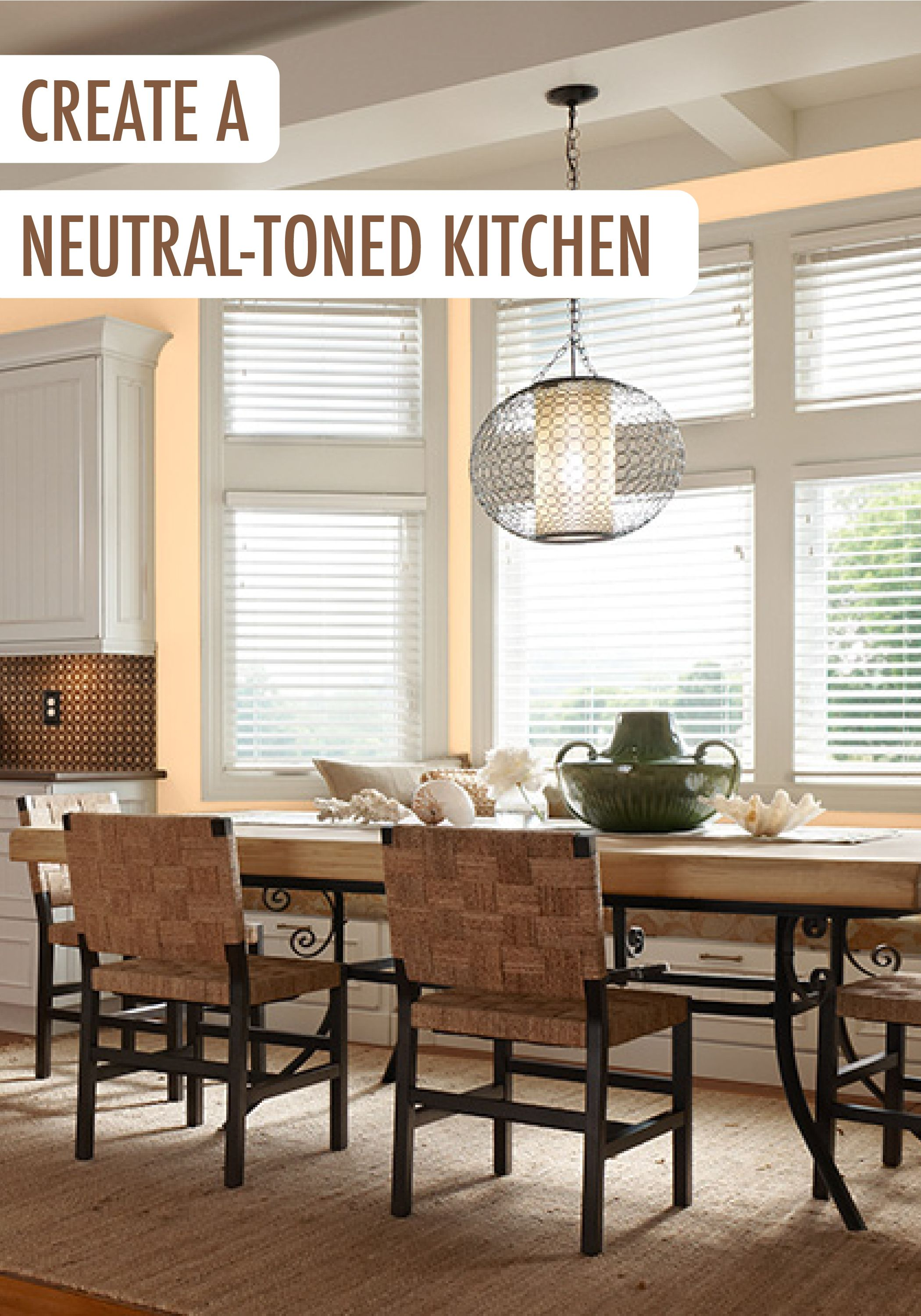 If Your Kitchen Is The Heart Of Home Then This Neutral Toned Color