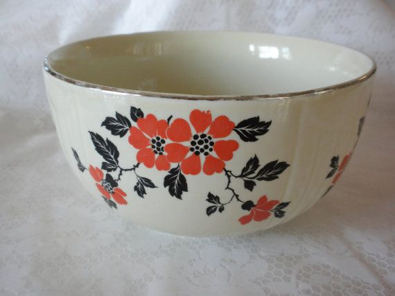 Wonderful Hallu0027s Kitchenware, Red Poppies Click For Listing