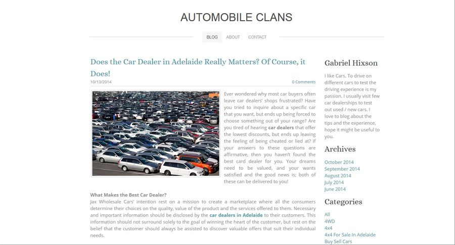 Http Elementalclans Weebly Com Blog Does The Car Dealer In Adelaide Really Matters Of Course It Does Click Here Jax Whole Gonzalez Places To Visit Car Dealer