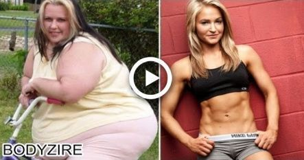 Obese To Fit Muscular Body Transformation Women Motivation Before And After