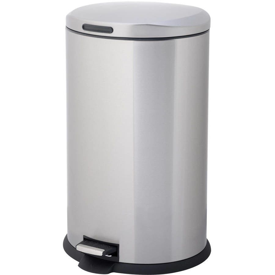 Tramontina 13 Gal Step Trash Can Stainless Steel Sam S Club