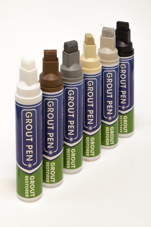 Grout Pen Large Black Ideal To Restore The Look Of Tile Grout Lines Amazon Com Grout Pen Tile Grout Grout