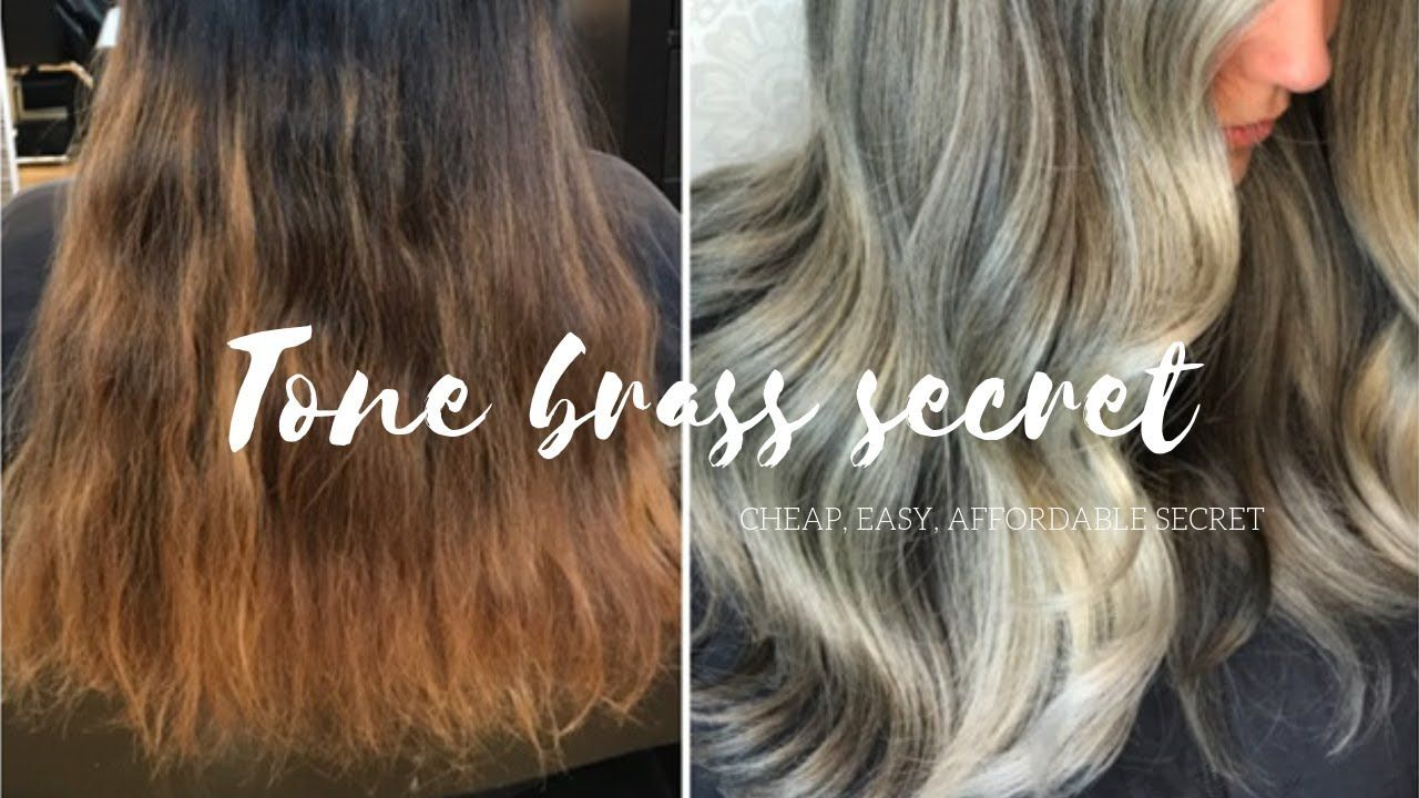 How to tone hair cheap easy secret youtube in 2020