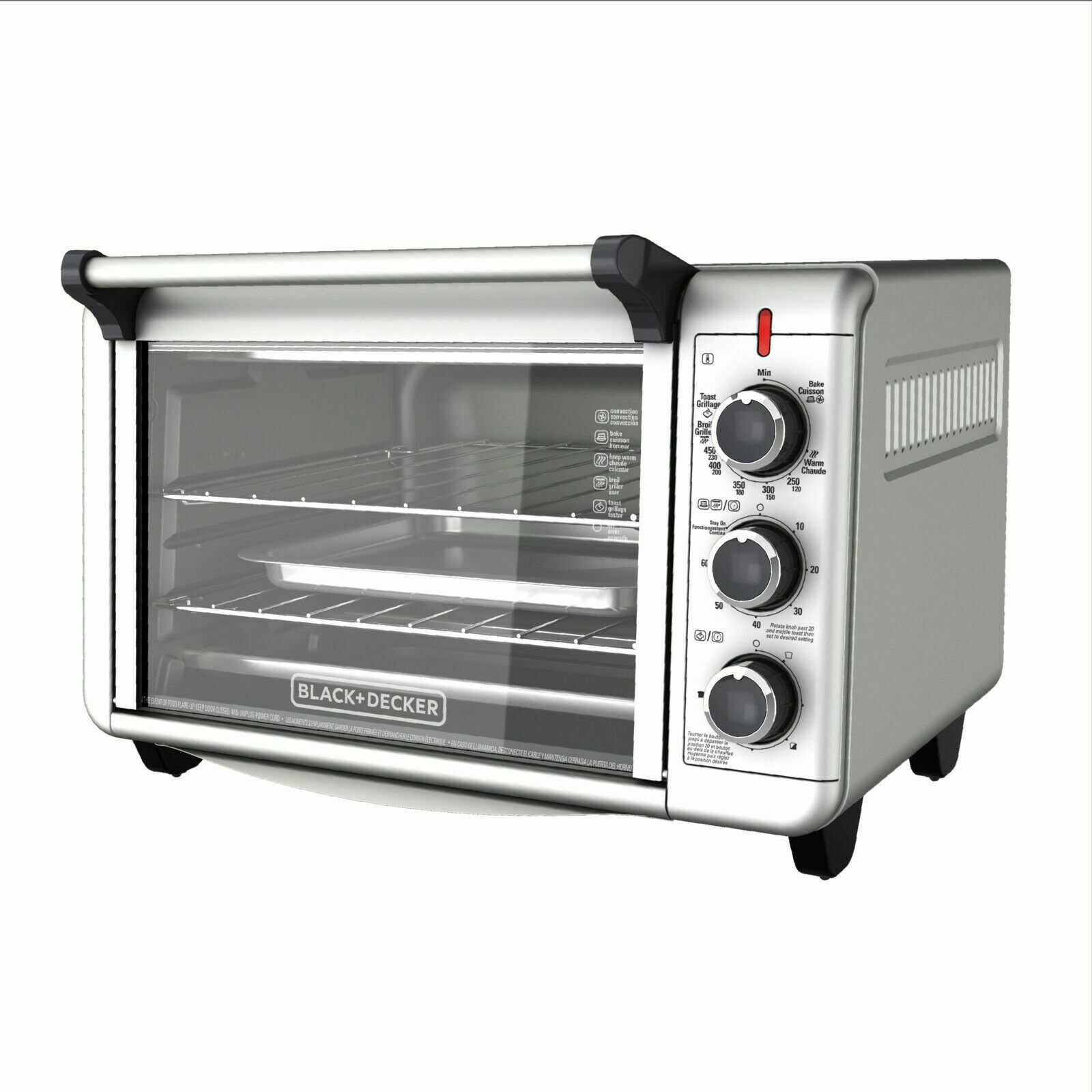 Details About Counter Toaster Oven Conventional Office Large