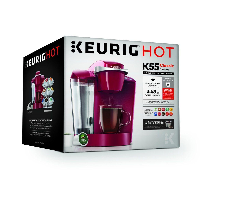 Keurig K55 Coffee Maker, Black Kitchen