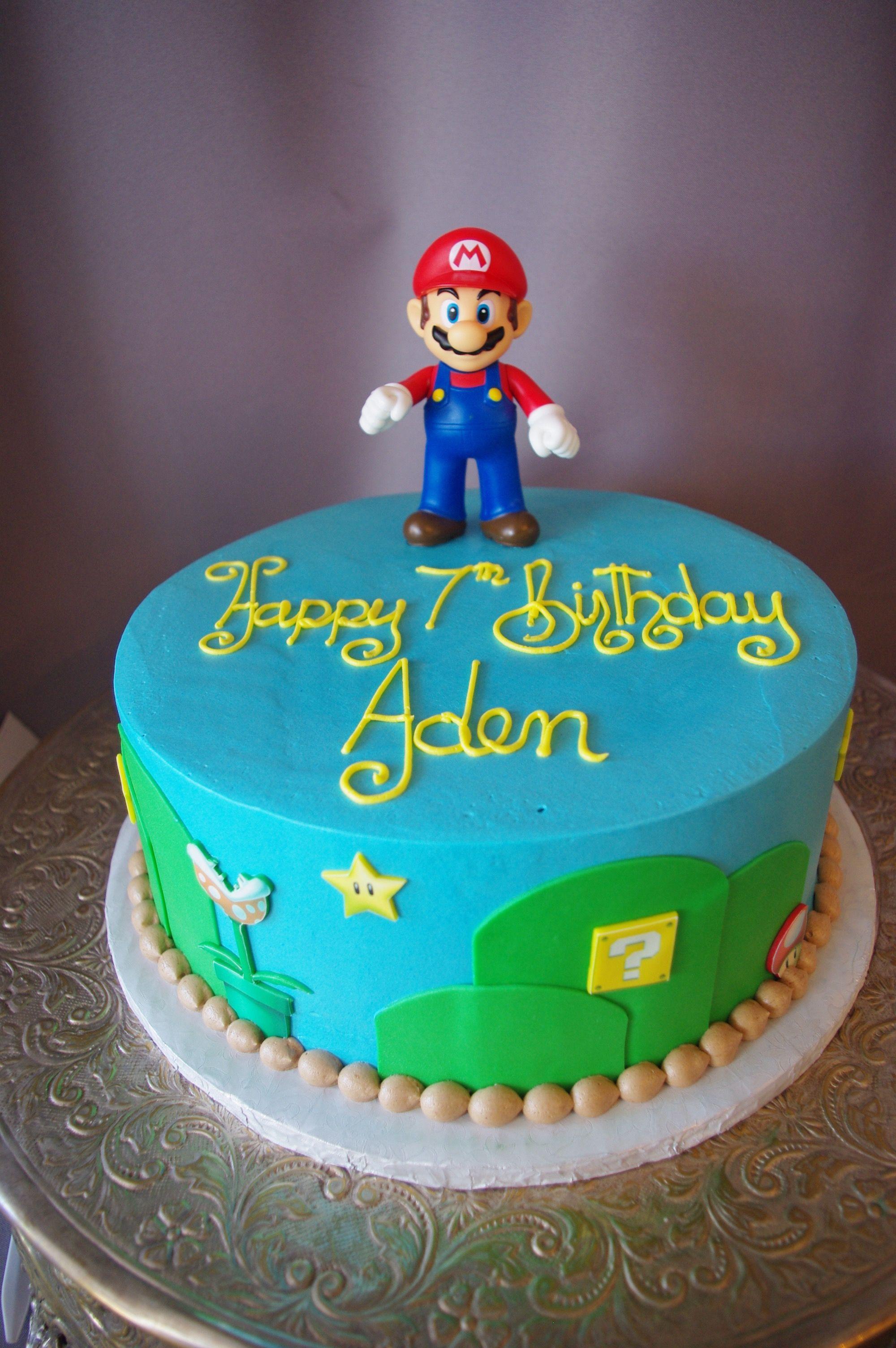 546 Simple Mario Cake