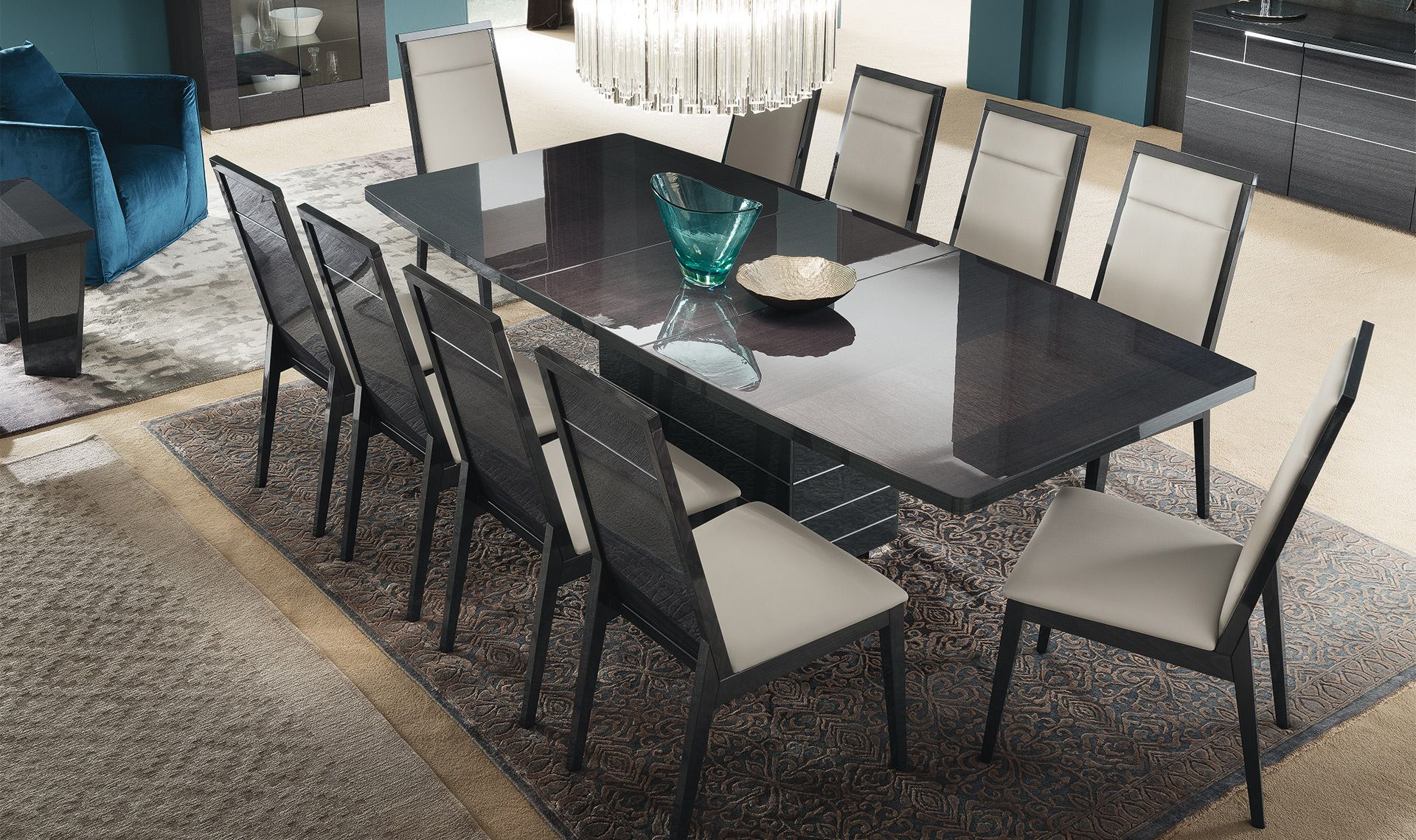 Versilia Dining Collection Dining Table Design Square Dining Tables Lacquer Dining Table