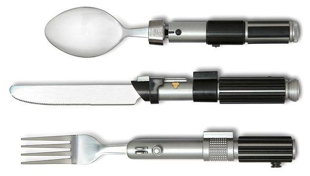 New Star Wars Cutlery Flatware Set Eating Utensils