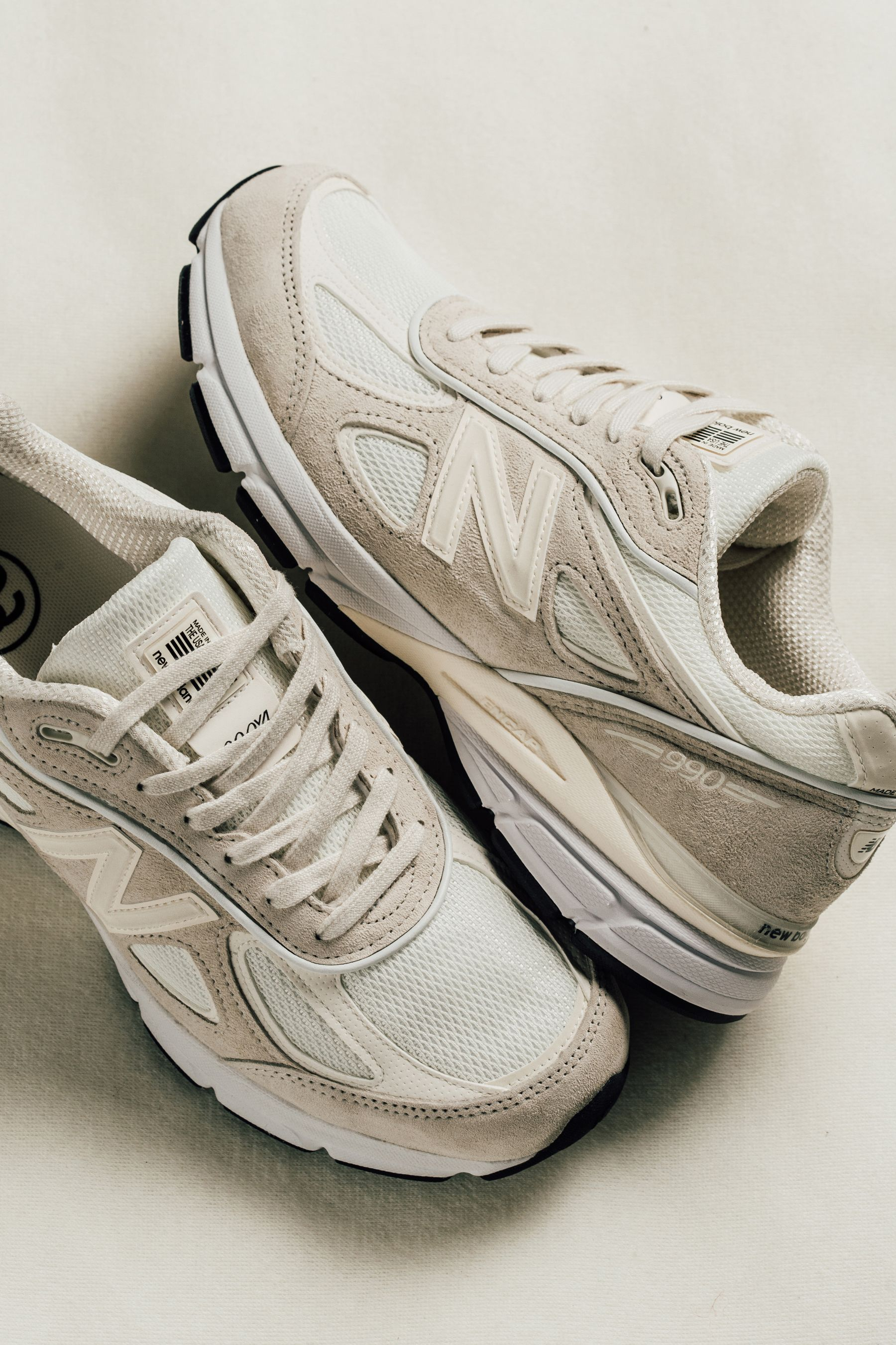 New Balance x Stussy 990v4 | Dad shoes, Womens sneakers ...