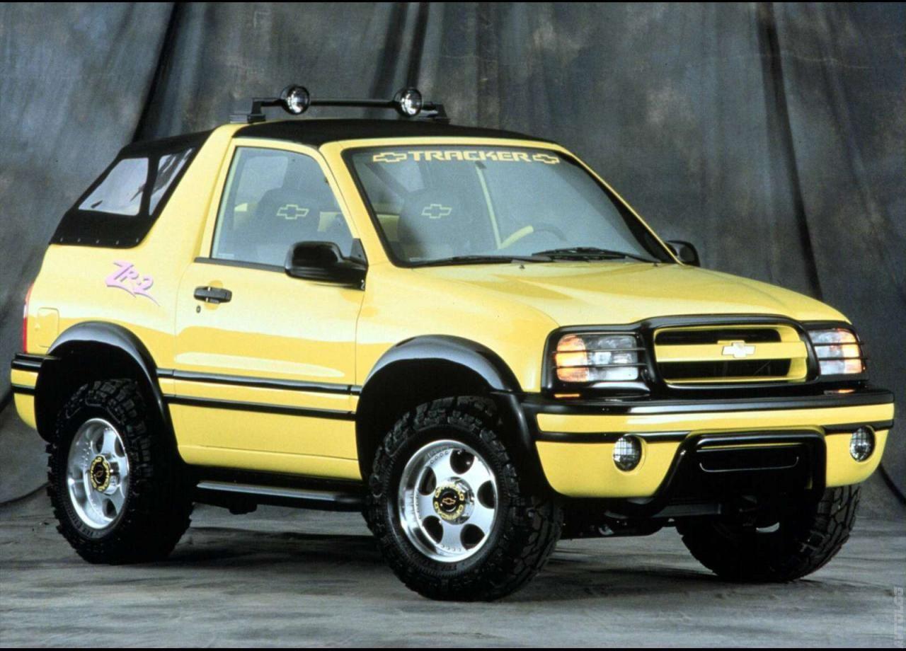 1999 Chevrolet Tracker Chevrolet Adventure Car Suv 4x4