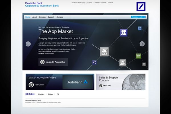 Deutsche Bank Web Application Designs By Hello Jay Via Behance Web Application Design Application Design Web Application