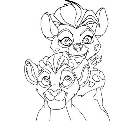 The Lion Guard Kion Coloring Pages | Drawings | Pinterest