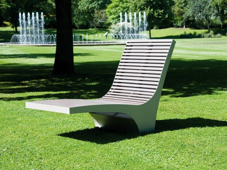steel and pet outdoor chair Comfony 600, Comfony collection to ...