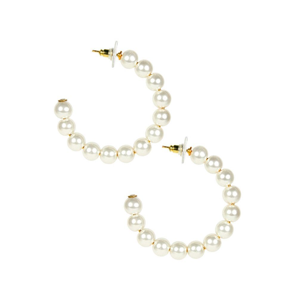 Pro body piercing  The Grove WP  Lisi Lerch Gold Lila Hoop Earrings  Products