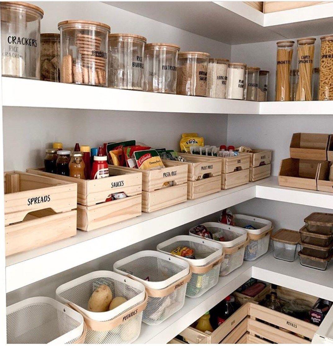 50 Clever Pantry Organization Ideas The Wonder Cottage Pantry Design Kitchen Pantry Design Kitchen Organization Pantry