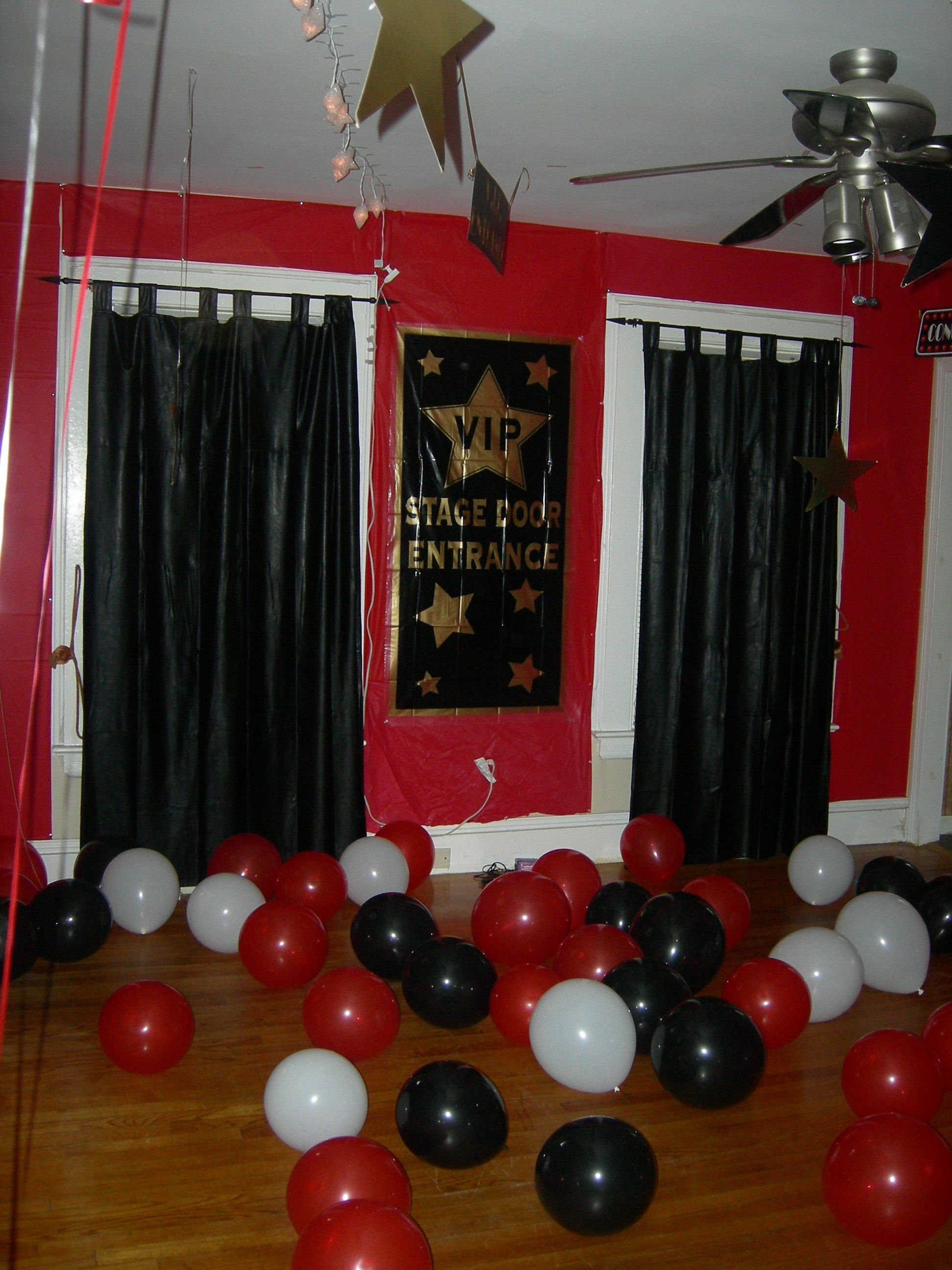 Hollywood Themed Party I Made This Pinterest