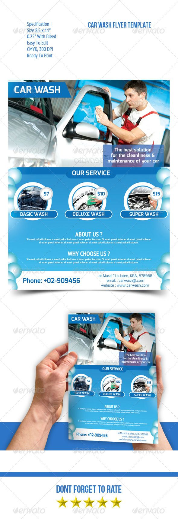 Car Wash Flyer | Pinterest | Volantes, Folletos y Lavar
